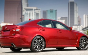 Picture the city, Lexus, IS-F, sedan