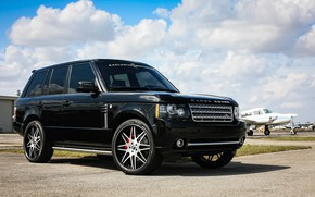 Picture Range Rover, Supercharged, Wheels, Forgiato, JL Audio, sound system
