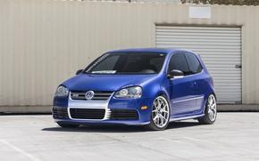 Picture Volkswagen, Blue, R32, Golf, Pearl, MK5, Deep