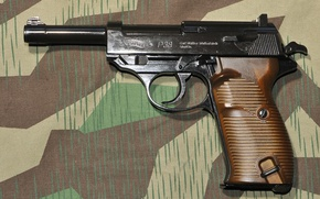 Picture Walther, Camouflage, P38, Germany