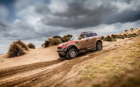 Picture Sand, Auto, Mini, Sport, Desert, Machine, Speed, Race, Rally, Dakar, Dakar, SUV, Rally, 312, X-Raid …