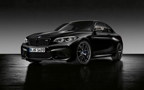 Wallpaper background, BMW, BMW, Black, Coupe, F87