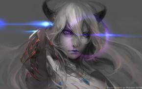 Picture anime, art, Amira, Shingeki no Bahamut
