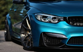 Picture BMW, Blue, Eye, F80, Sight, LED