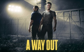 Picture man, prison, spotlight, jail, wiring, watchtower, inmates, A Way Out, correctional institute, E3 2017