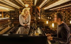 Picture cinema, film, Passengers, woman, survivors, girl, Jennifer Lawrence, movie, Chris Pratt, man