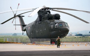 Picture helicopter, Mi-26, Mi-26, Mexican air force, Mexican Air Force