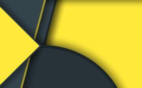 Wallpaper line, strip, yellow, texture, figure