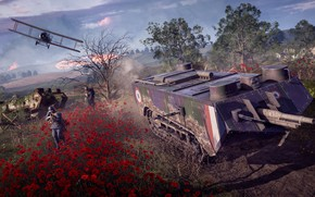 Picture tank, Battlefield 1, field battle