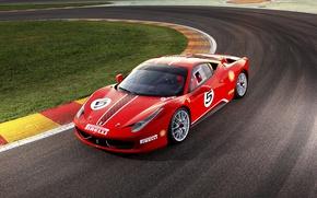 Wallpaper supercar, Ferrari, 458, Challenge, Ferrari