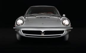 Picture Maserati, Maserati, Retro, The front, Mistral