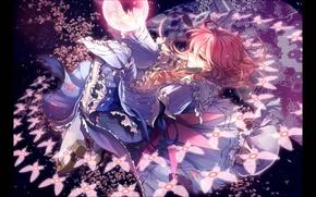 Picture girl, gun, anime, art, anime art