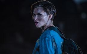 Wallpaper Ruby Rose, brunette, Resident Evil: The Final Chapter, the film, backpack, Resident evil: the final ...