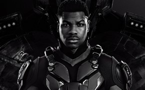 Picture fiction, costume, black and white, John Boyega, John Boyega, Pacific rim 2, Pacific Rim: Uprising, …