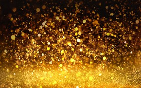 Picture background, sequins, golden, gold, texture, bokeh, bokeh, shine, glitter