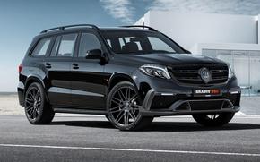 Picture Mercedes, Brabus, Black, Tuning, 850 XL