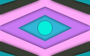 Picture round, layers, diamonds