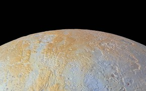 Wallpaper planet, Pluto, Solar System, North Pole