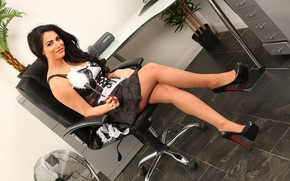 Picture chest, look, girl, pose, model, figure, beauty, legs, sexy, legs, beautiful, face, Charlotte Springer