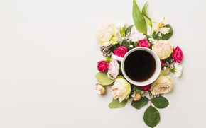 Picture Flowers, Coffee, Drink