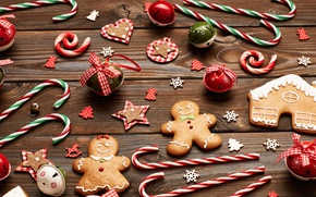 Picture merry christmas, cookies, decoration, gingerbread