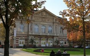 Wallpaper Nature, Baden-Baden, Theater