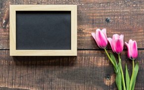 Wallpaper love, wood, frame, pink tulips, romantic, pink, tulips, March 8, tulips, flowers
