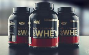 Picture Optimum, Nutrition, Whey