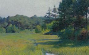Picture landscape, picture, River Scene, Frank Weston Benson, Frank Benson