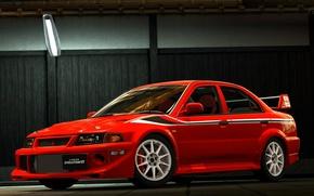 Picture Mitsubishi, Evolution, The front, TME, Evo 6
