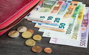 Picture Euro, money, coins