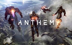 Wallpaper robot, the exoskeleton, action, bioware, action, Anthem