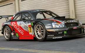 Picture Subaru, Impreza, BRZ, GT300, dangeruss, Super GT