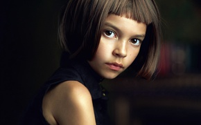 Wallpaper girl, Matilda, brown-eyed, Alexander Vinogradov, Alexander Vinogradov