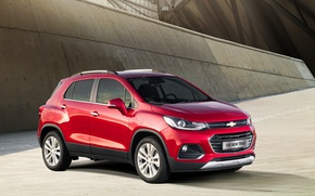 Picture red, Chevrolet, red, car, metallic, trax