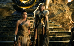 Wallpaper cinema, film, movie, Wonder Woman, Hippolyta, Gal Gadot