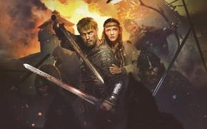 Wallpaper poster, sparks, the film, battle, Ilya Malakov, The legend of Kolowrat, blood, Polina Chernyshova, history, ...