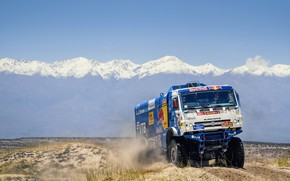 Picture Mountains, Sport, Truck, Race, Master, Russia, Kamaz, Rally, Dakar, KAMAZ-master, Dakar, Rally, KAMAZ, The roads, …