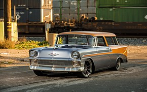 Wallpaper Wheels, Forgeline, Nomad, Dropkick, Chevrolet
