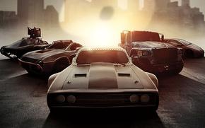 Wallpaper car, cinema, film, .50, machine gun, heavy weapon, Fast And Furious 8, Fast 8, Fast ...