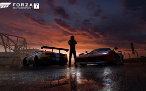 Picture car, game, cars, race, speed, pilot, Forza Motorsport, Forza Motorsport 7