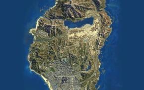 Picture Rockstar, Map, Grand Theft Auto V, GTA V