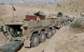 Picture weapon, Boxer, armored, military vehicle, armored vehicle, armed forces, military power, 028, war materiel