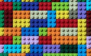 Picture cubes, color, form, lego
