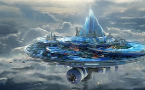Picture the sky, clouds, building, construction, slides, Leon Tukker, humidum aqua center