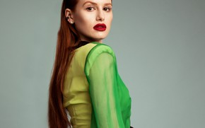 Picture actress, red, red hair, redhead, Madelaine Petsch