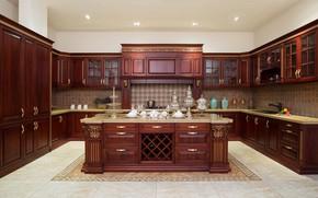 Picture furniture, large, kitchen, design, luxury, kitchen