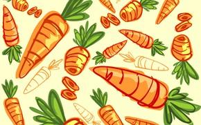 Picture background, texture, carrots, vegetables