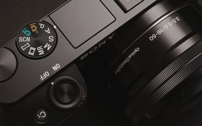 Picture camera, lens, Sony, camera, the camera, alpha, a6000, Sony a6000, lens Sony SELP1650, SELP1650, fotoapparat