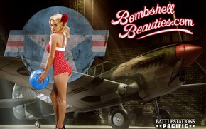 Picture P-40, The Second World, Pin-Up